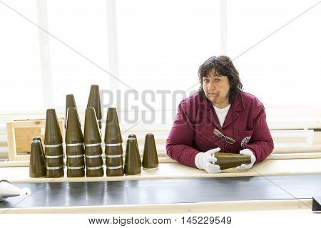 Weapon Arms Arsenal Production Warheads