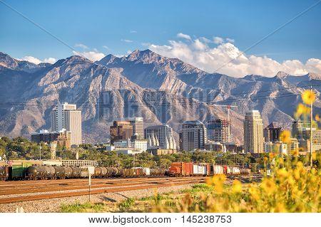Downtown Salt Lake City, Utah