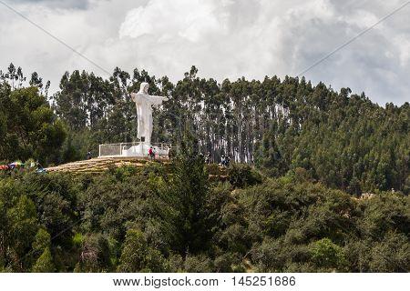 Cristo Rey In Cusco Peru