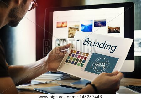 Branding Ideas Design Identity Marketing Concept