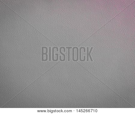 Close up gray leather and texture background