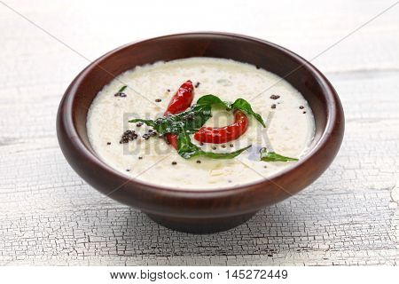 coconut chutney, indian food