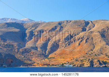 South Coast Of Crete Near Agia Roumeli, Greece