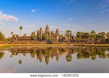 Angkor Wat Temple at Siem Reap, Cambodia