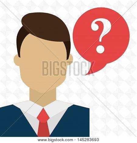 smartphone woman question icon vector illustration esp 10