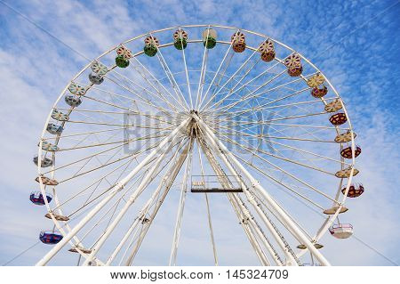 Wheel in Le Havre. Le Havre Normandy France