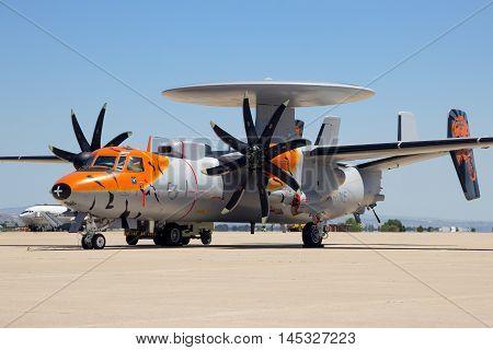 E-2C Hawkeye Radar Plane