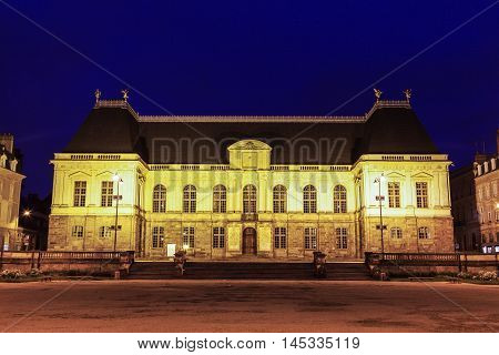 Parliament of Brittany in Rennes. Rennes Brittany France