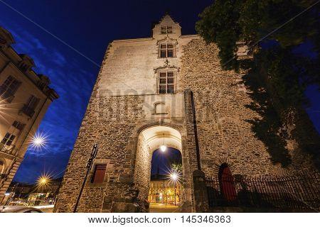 Porte Saint-Pierre in Nantes. Nantes Pays de la Loire France