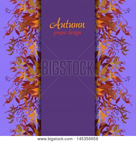 Autumn Grape Vine