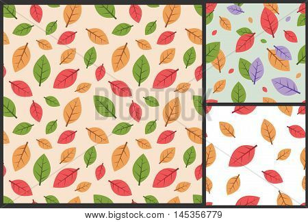 autumn leaves, leaves pattern, autumn pattern, leaves background, autumn background, autumn seamless pattern