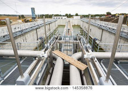 Wastewater Treatment Water Pumping Station