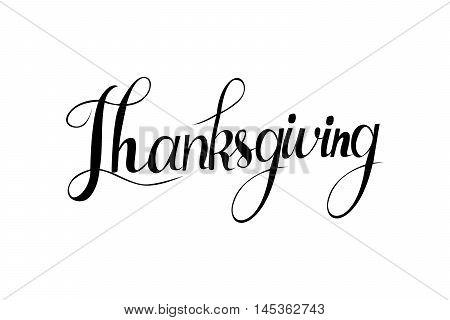 Happy Thanksgiving Day Logotype,