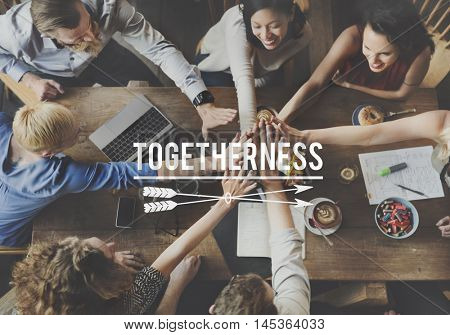 Together Togetherness Community Friends Team Concept