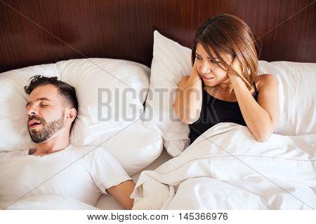 Partner Snoring At Night