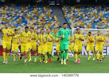 Open Training Session Of Ukraine National Football Team