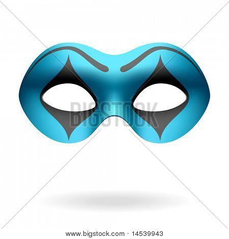 Masquerade mask. Vector.