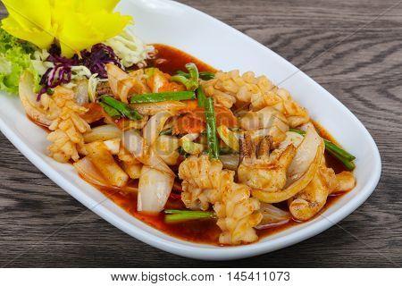 Squid In Sauce