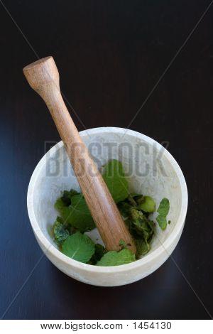 Mortar And Pestal Mint