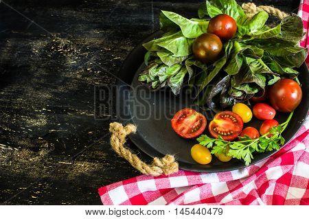 Vegetables For Summer Salad
