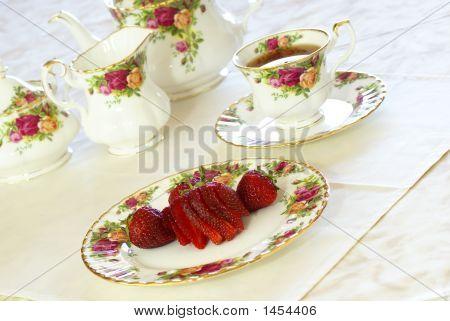 Strawberries And Tea