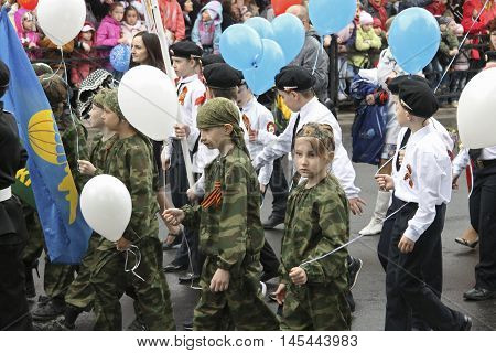 Celebration Of The 70Th Anniversary Of The Victory Day Pyatigorsk Russia - May 09 2015