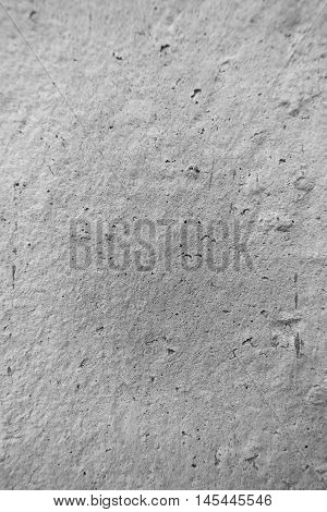 White Wall made by Cement for Background.