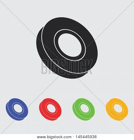 insulation scotch tape  vector icon for web and mobile