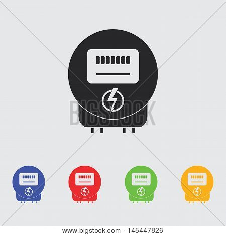 Electricity power  vector icon for web and mobile