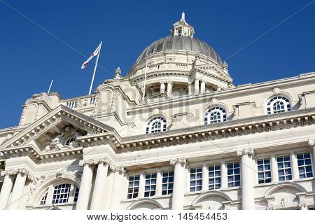 Port of Liverpool building, Merseyside, Liverpool, UK