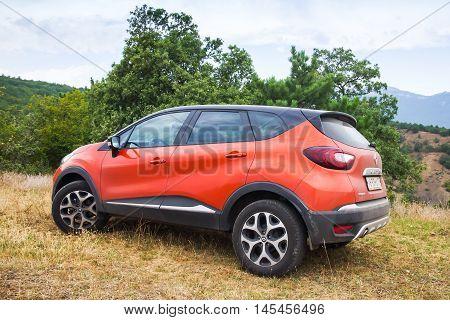 Closeup Photo Of Renault Kaptur Car