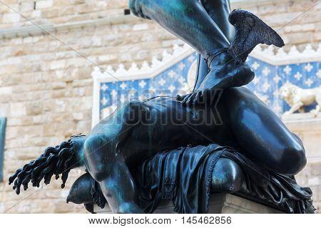 Bronze Sculpture Of Perseus In Florence