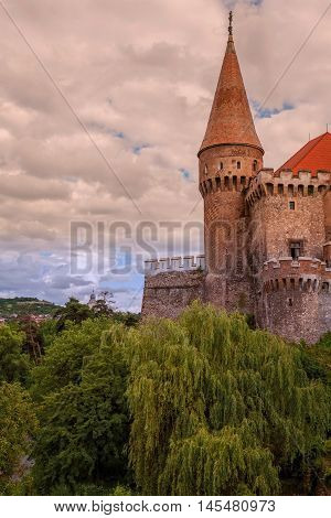 Corvin Castle Also Known As Hunyadi Castle Or Hunedoara Castle Is A Gothic-Renaissance Castle In Hunedoara Romania. It Is One Of The Largest Castles In Europe And Figures In A Top Of Seven Wonders Of Romania