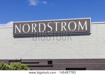 Indianapolis - Circa September 2016: Nordstrom Retail Mall Location. Nordstrom is Known for its Service and Fashion III