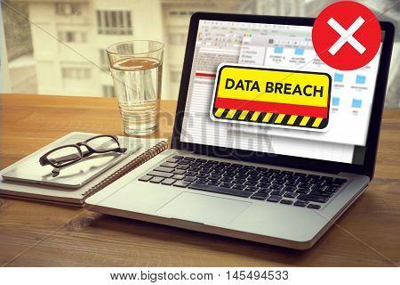 Security Computer Data Breach Security Confidential Cybercrime