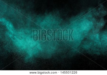 Aquamarine Powder Explosion