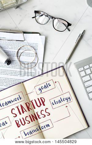 Start up Business Entrepreneurship Ideas Concept
