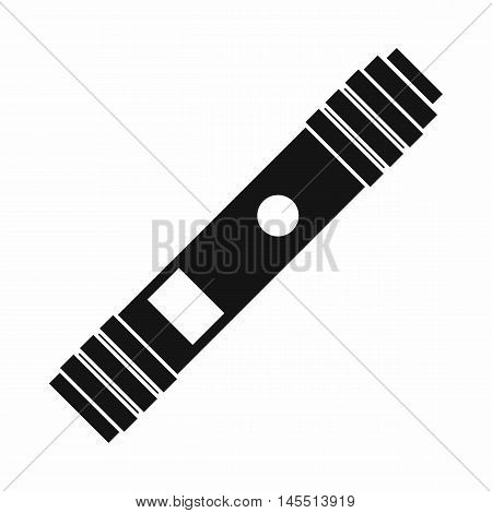 Battery mod for electronic cigarette icon in simple style isolated on white background. Charging symbol