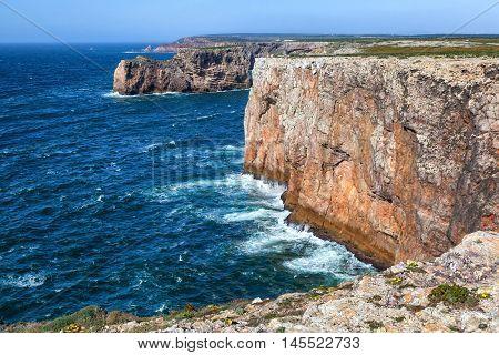 North shore of Cape St.Vincent Sagres Portugal