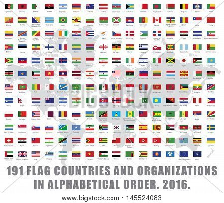 191 all world flag countries and organizations big set collection full list