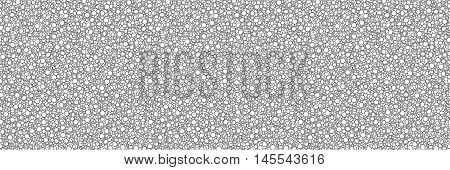 seamless abstract circles vector background graphic illustration