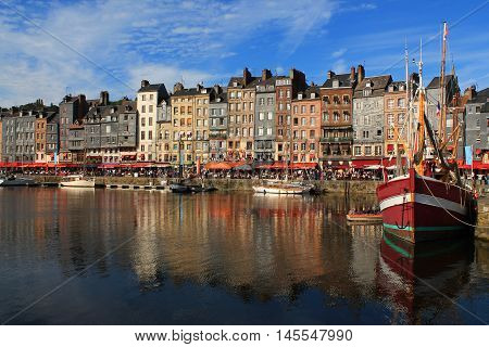 The Port of Honfleur is the harbour of the Norman town of Honfleur