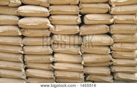Zement-Taschen