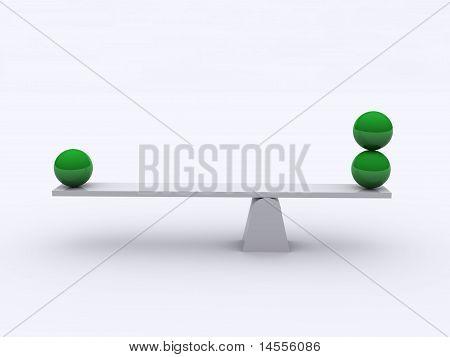 Spheres In Balance