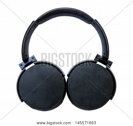 Bluetooth headset on isolated white with clipping path.