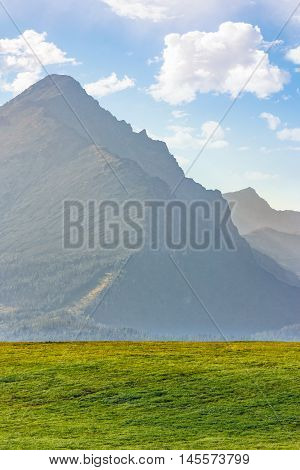 High Peak Of The Tatra Mountain