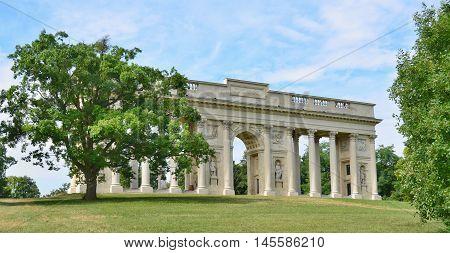 Reistna historic landmark historical Lednice-Valtice area Czech Republic