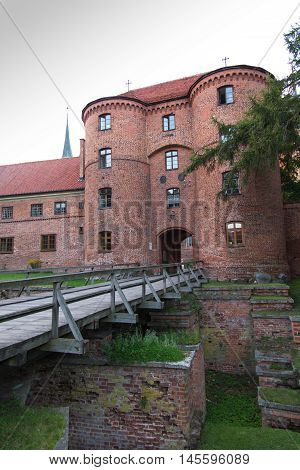 Frombork Cathedral place where Nicolaus Copernicus was buried. Poland