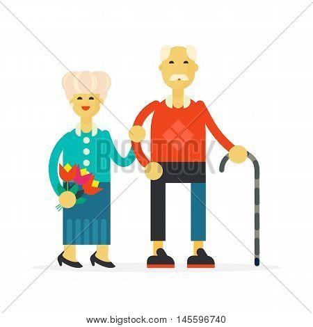 He Senior Happy Couple