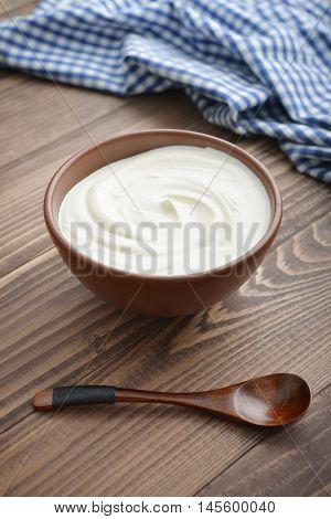 Yogurt In Bowl
